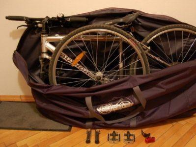 Разобранный велосипед