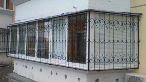Решетки на балкон