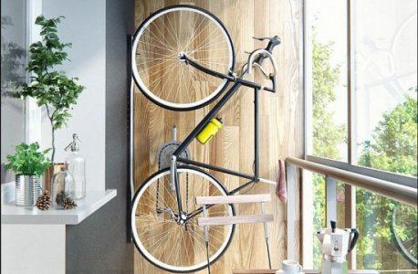 Велосипед на балконе