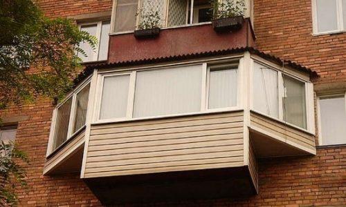 Балкон-бабочка