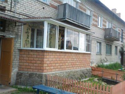 Незаконный балкон