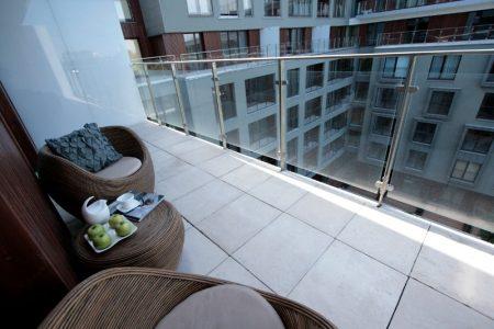 Чистый балкон