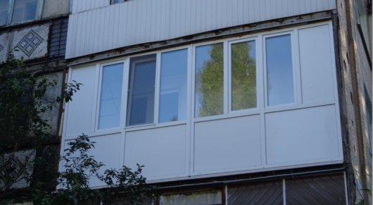Сэндвич-панели на балконе