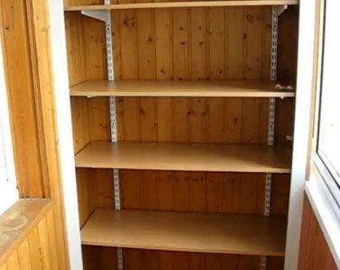 Шкаф без дверей