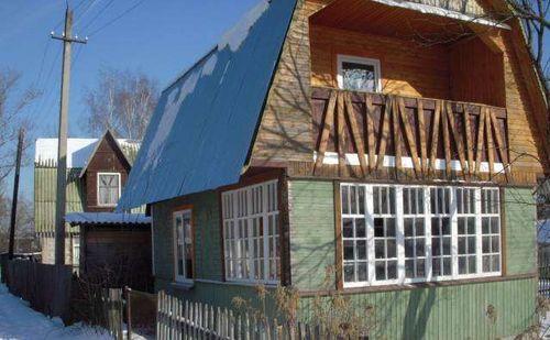 Дачный балкон
