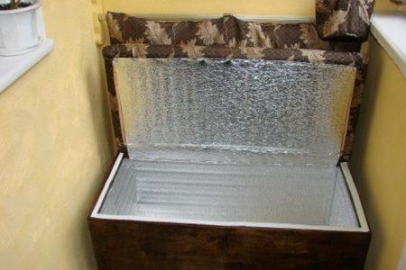 Диван-ящик
