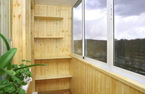 Пустой балкон