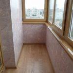 Облицовка балкона мдф панелями
