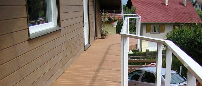 Стены балкона