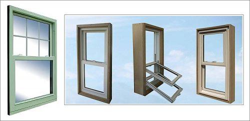 Вертикально-сдвижные окна