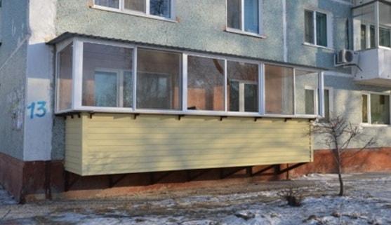 Подвесной балкон